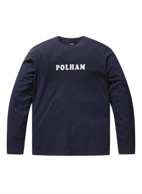 폴햄 로고 긴팔 티셔츠