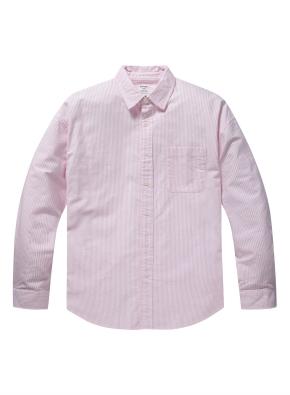 코튼 옥스퍼드 오버핏 셔츠