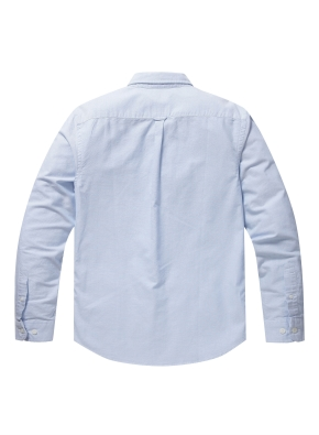 남성 코튼 옥스퍼드 셔츠 _ (BL)