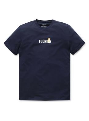 공용 로고 그래픽 티셔츠 _ (NV)