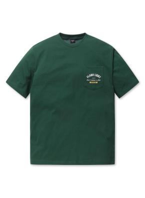남여공용 포켓 5부 티셔츠 _ (GN)