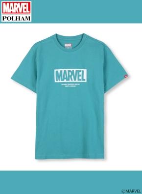 남여공용 마블 콜라보 로고 티셔츠 _ (TGN)