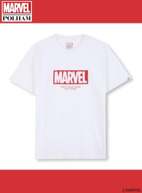 남여공용 마블 콜라보 로고 티셔츠 _ (WT)