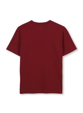 남여공용 마블 콜라보 로고 그래픽 티셔츠 _ (BG)