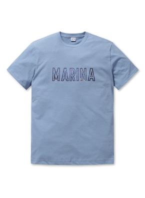 공용 엠보 그래픽 티셔츠2 _ (SBL)