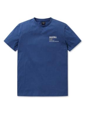 공용 마린 그래픽 티셔츠2 _ (NV)