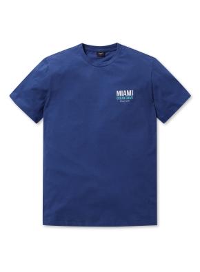 공용 오션 그래픽 티셔츠 _ (DBL)