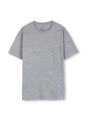 남여공용 라운드 베이직 싱글 티셔츠 _ (MGR)