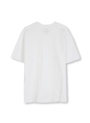 남여공용 라운드 베이직 싱글 티셔츠 _ (WT)