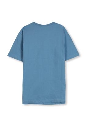 남여공용 브이넥 베이직 싱글 티셔츠 _ (LBL)