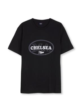 남여공용 베이직 그래픽 티셔츠 _ (BK)