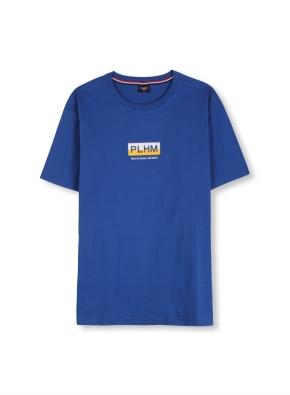 남여공용 로고 그래픽 티셔츠 _ (BL)