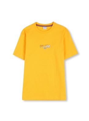 로고 그래픽 반팔 티셔츠