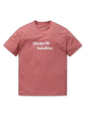 공용 레터링 그래픽 티셔츠 _ (DPK)