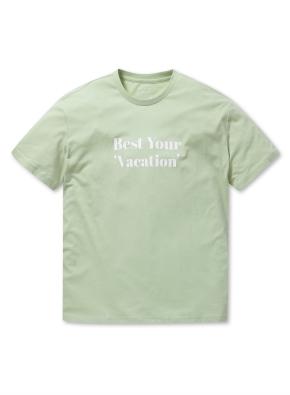공용 레터링 그래픽 티셔츠 _ (MT)
