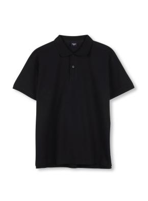 남녀 공용 피케 티셔츠 _ (BK)