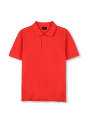 남녀 공용 피케 티셔츠 _ (RD)