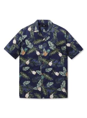 남성 하와이안 오픈 카라 셔츠 _ (DNP)