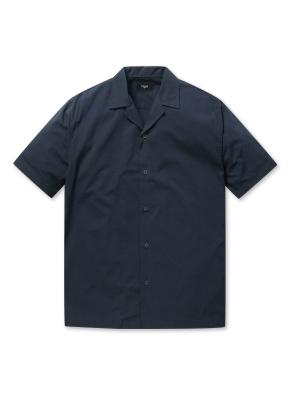 남성 하와이안 오픈 카라 셔츠 _ (NV)