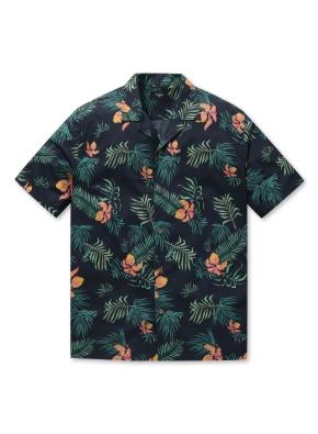 남성 하와이안 오픈 카라 셔츠 _ (PBK)
