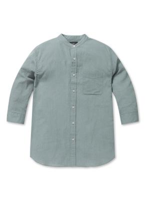 남성 쿨 밴드 하프 7부 셔츠 _ (GN)