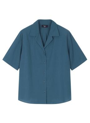 여성 오픈카라 셔츠 _ (DGN)