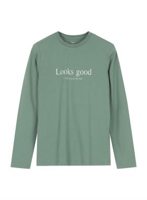 여성 그래픽 긴팔 티셔츠 _ (LGN)