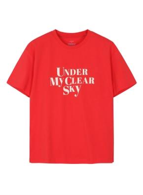 여성 그래픽 티셔츠2 _ (RD)