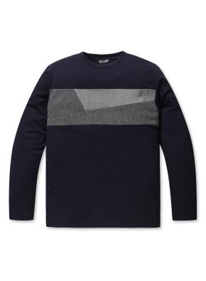 남여공용 쿨 테리 스마트 블록 티셔츠 _ (DNV)