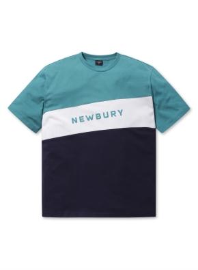 남여공용 블록 그래픽 티셔츠 _ (GN)