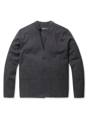 남성 자켓형 스웨터 가디건 _ (CH)