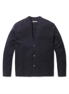 남성 자켓형 스웨터 가디건 _ (NV)