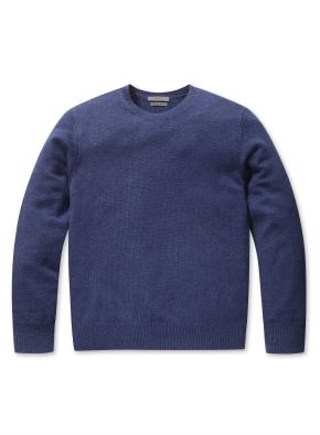 남성 캐시미어 블랜드 크루넥 스웨터 _ (BL)