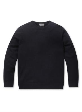 캐시미어 블랜드 크루넥 스웨터