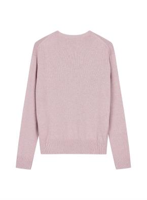 여성 캐시블랜드 크루넥 스웨터 _ (PK)