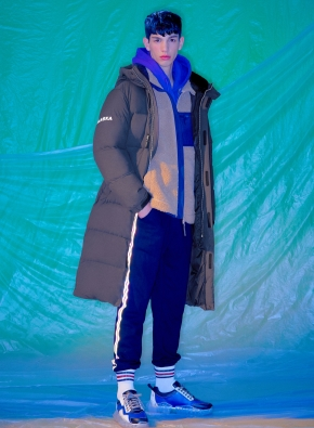 은우 PICK) 남여공용 알래스카 에어 프리미엄 롱다운 점퍼 _ (DGR)