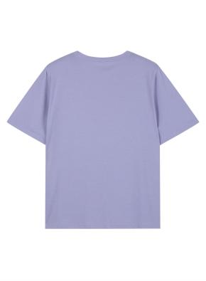 여성 타이포 그래픽 반팔 티셔츠