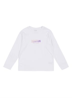 키즈 레터링 그래픽 티셔츠 _ (WT)