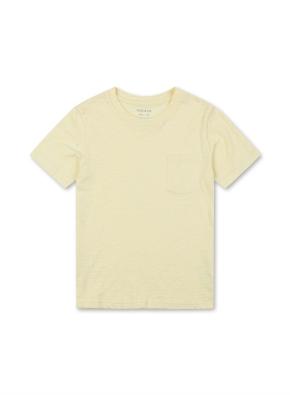 슬럽 베이직 포켓 반팔 티셔츠