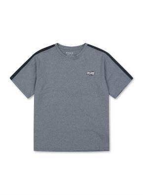 액티브 블록 반팔 티셔츠