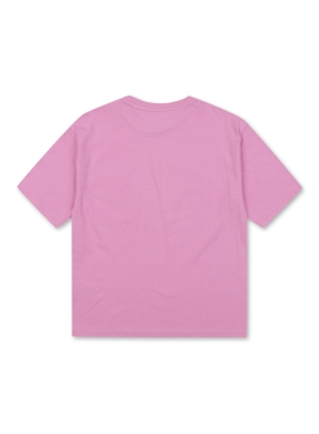 키즈 미니자수 포켓 반팔 티셔츠 _ (PK)