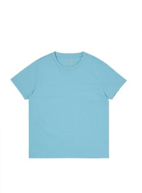 키즈 오가닉 싱글 반팔 티셔츠 _ (BL)