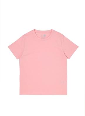 오가닉 싱글 반팔 티셔츠