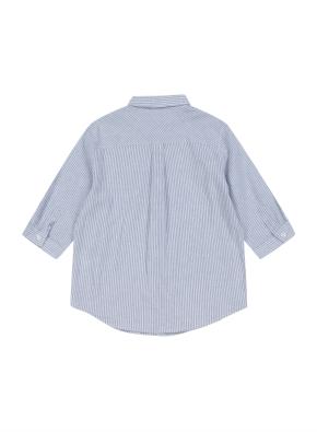코튼린넨 7부 셔츠