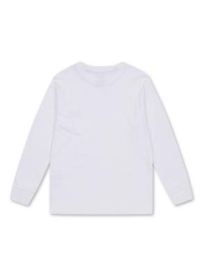 키즈 드랍핏 롱 티셔츠 _ (WT)