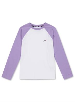 키즈 라글란 싱글 티셔츠 _ (LPP)