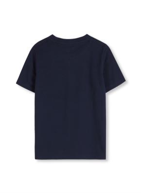 키즈 시그니쳐 포켓 반팔 티셔츠 _ (NV)