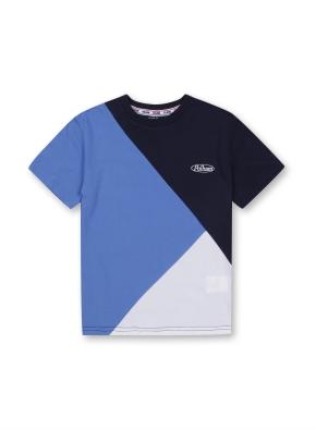 키즈 블록형 티셔츠 _ (NY)