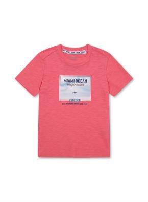 키즈 마이애미 그래픽 티셔츠 _ (PK)