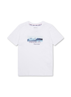 키즈 마이애미 그래픽 티셔츠 _ (WT)
